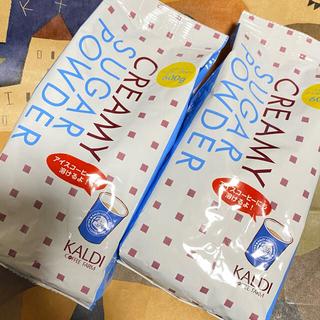 KALDI - KALDI カルディ コーヒー クリーミー シュガー パウダー 600g 2袋
