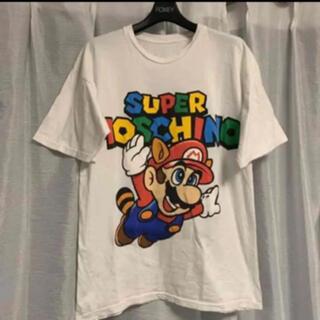 ボウダンショウネンダン(防弾少年団(BTS))のMOSCHINO MARIO モスキーノ Nintendo BTS JIN着用(Tシャツ(半袖/袖なし))