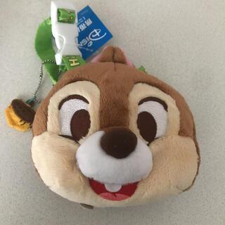 チップアンドデール(チップ&デール)の新品 ディズニー チップとデール 携帯バッグ 二つ折り用 チップ ケース カバー(キャラクターグッズ)