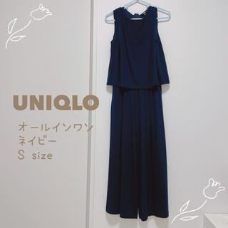 ユニクロ(UNIQLO)のUNIQLO ノースリーブオールインワン  S(オールインワン)