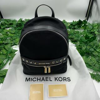 Michael Kors - MICHAELKORS マイケルコース リュック ナイロン ブラック  極美品