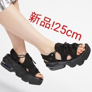 ナイキ(NIKE)のNIKE AIR MAX KOKO ナイキ エアマックスココ ブラック 黒 25(サンダル)