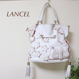 ランセル(LANCEL)のLANCEL ランセル2wayハンドバッグ プルミエ フラート 巾着 斜めがけ(ショルダーバッグ)