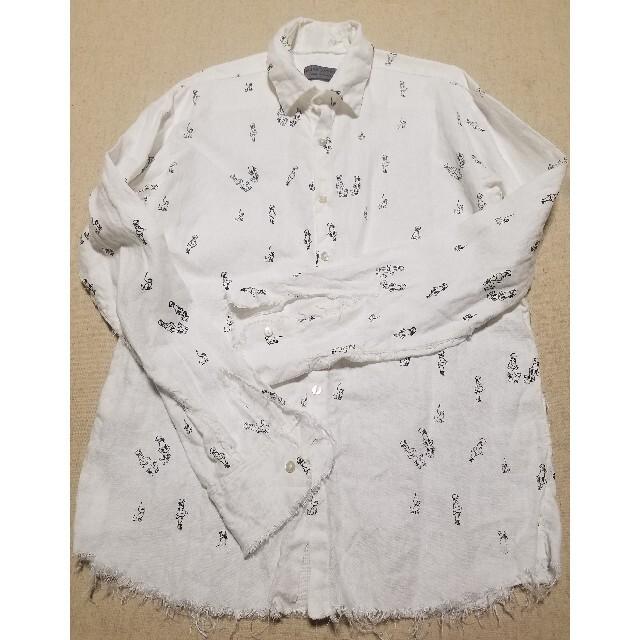 Paul Harnden(ポールハーデン)のエレナドーソンのリネンシャツ メンズのトップス(シャツ)の商品写真