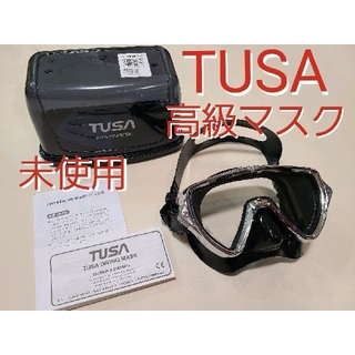 TUSA - 未使用 TUSA 高級マスク スキューバダイビング シュノーケリング ツサ