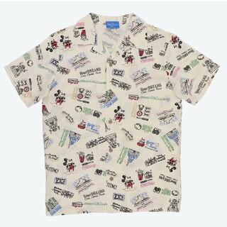 ディズニー(Disney)のディズニー ユニセックス L アロハシャツ(シャツ/ブラウス(半袖/袖なし))
