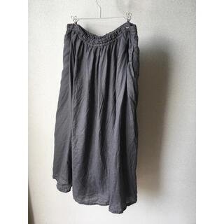 ムジルシリョウヒン(MUJI (無印良品))の無印良品 フレンチリネンロングスカート(ロングスカート)