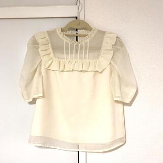 トランテアンソンドゥモード(31 Sons de mode)のトランテアン パフスリーブブラウス(シャツ/ブラウス(半袖/袖なし))