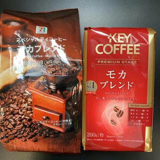 キーコーヒー(KEY COFFEE)のレギュラーコーヒー(粉)セット(コーヒー)
