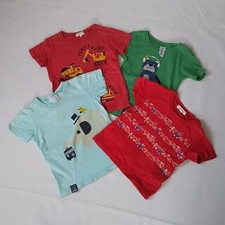 サンカンシオン(3can4on)の半袖 Tシャツ 100 男の子 4枚セット 3can4on (Tシャツ/カットソー)