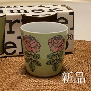 マリメッコ(marimekko)のマリメッコ☆ヴィヒキルース posti フィンランド限定 ラテマグ  1個♪(グラス/カップ)