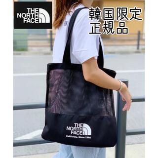 ザノースフェイス(THE NORTH FACE)の新品/メッシュトートバッグ/韓国ノースフェイス/男女兼用(トートバッグ)