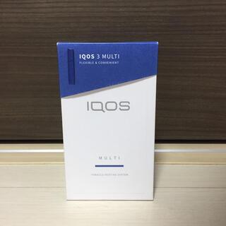 アイコス(IQOS)のアイコス3マルチ IQOS3MULTI アイコス ステラブルー マルチ(タバコグッズ)
