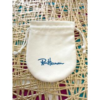 ロンハーマン(Ron Herman)のロンハーマン RonHerman 巾着 ショップ袋 ショッパー(ショップ袋)