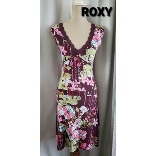 ロキシー(Roxy)の《きょうちゃん様専用》ROXY  セクシーで可愛いジャージワンピース(ひざ丈ワンピース)