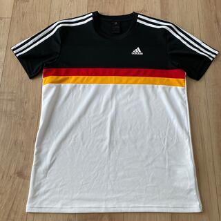 adidas - adidas アディダス プラシャツ Tシャツ ドイツカラー XO