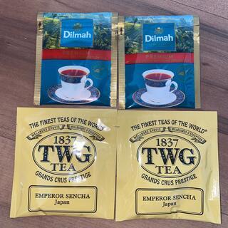 DEAN & DELUCA - 高級紅茶4袋 貴重 ☆TWG  Dilmah ☆ ティーダブリュジー 最安値