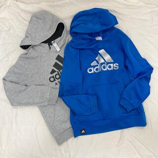 adidas - adidas アディダス パーカー フーディー 140