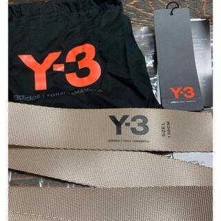 ワイスリー(Y-3)のy-3 ベルト ベージュ ワイスリー(ベルト)