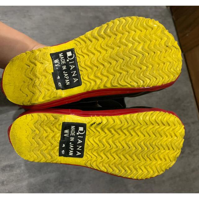 DIANA(ダイアナ)のDIANA  キッズ ディズニーレインブー 長靴 キッズ/ベビー/マタニティのキッズ靴/シューズ(15cm~)(長靴/レインシューズ)の商品写真