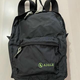 AIGLE - 【美品】AIGLE ポケッタブルタイプ ミニリュック