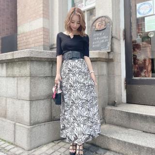 MERCURYDUO - MERCURYDUO カットワーク刺繍スカート