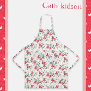 キャスキッドソン(Cath Kidston)の【新品】キャスキッドソン イチゴ柄 エプロン(その他)