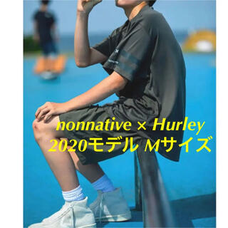 nonnative - グレーMサイズ nonnative SURF TEE POLY JERSEY