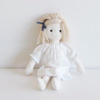 ボンポワン(Bonpoint)のcheck&stripe チェックアンドストライプ  お人形 キット セット(生地/糸)