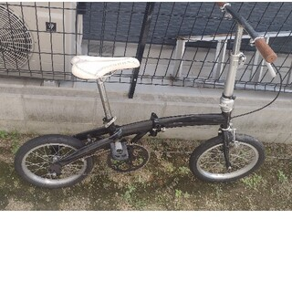 16インチ折り畳み自転車!カスタム多数!フロント52丁化済み!(自転車本体)
