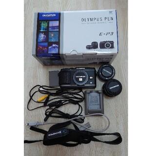 OLYMPUS - OLYMPUS  PEN  E-P3  一眼レフカメラ