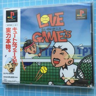 PlayStation - プレイステーション ラブ・ゲーム わいわいテニス 未開封❣️
