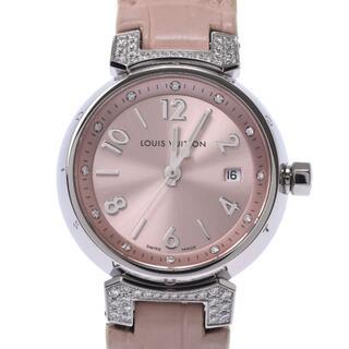 ルイヴィトン(LOUIS VUITTON)のルイヴィトン  タンブール ブラッシュディアモンPM ラグダイヤ 12Pダ(腕時計)