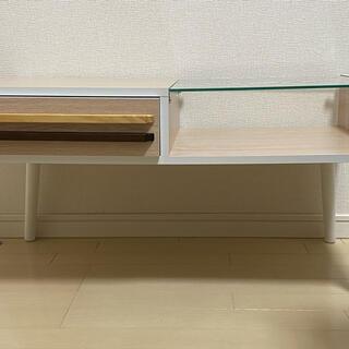 テレビ台/テーブル 両面式/木製/美品(その他)