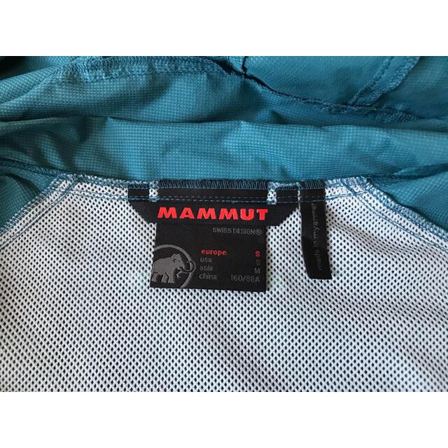 Mammut(マムート)のMAMMUT マムート ウィンドシェルジャケット ウィメンズ Sサイズ スポーツ/アウトドアのアウトドア(登山用品)の商品写真