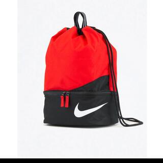 NIKE - 【新品、未使用】NIKE ナイキ プールバッグ ナップサック 赤