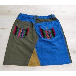 チチカカ(titicaca)のチチカカ 膝丈スカート Mサイズ(ひざ丈スカート)