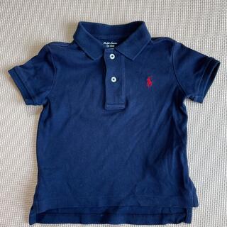 ポロラルフローレン(POLO RALPH LAUREN)のラルフローレン ポロシャツ 12M 80 ネイビー 紺(シャツ/カットソー)