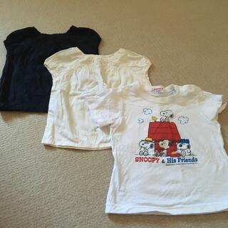ムジルシリョウヒン(MUJI (無印良品))のファミリア 無印良品 Tシャツ 80 3枚(Tシャツ)