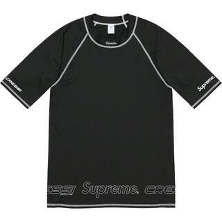 シュプリーム(Supreme)のL Supreme Cressi Rash Guard Black(サーフィン)