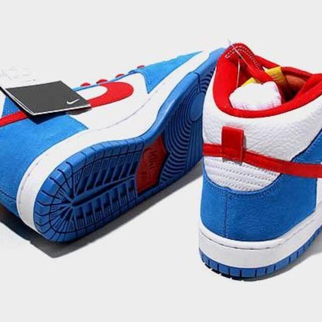 NIKE(ナイキ)の新品 NIKE SB × ドラえもん DUNK HIGH PRO ISO US9 メンズの靴/シューズ(スニーカー)の商品写真