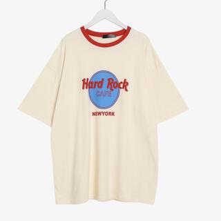 ロックハード(ROCK HARD)の★ユニセックス★ハードロックカフェ  プリント Tシャツ   ニューヨーク (Tシャツ/カットソー(半袖/袖なし))