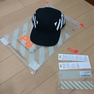 OFF-WHITE - オフホワイト DIAG BASEBALL CAP 帽子野球