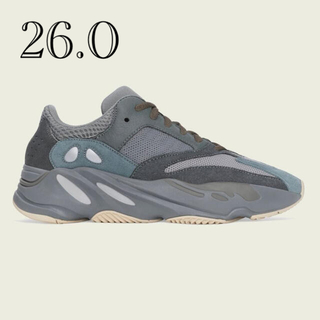 アディダス(adidas)のアディダス YEEZY BOOST 700  TEAL BLUE 260(スニーカー)