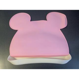 ミッキー(ミニー)マウスのお食事マット(お食事エプロン)