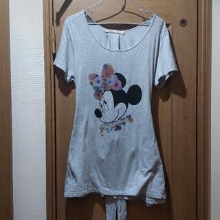 ディズニー(Disney)のディズニー ミニーちゃんのワンピース サイズXL (052)(ミニワンピース)