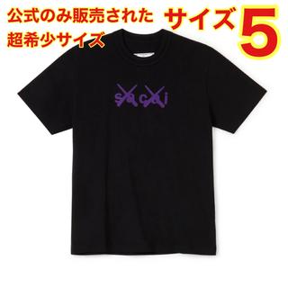 サカイ(sacai)のsacai kaws Flock Print T-Shirt (Tシャツ/カットソー(半袖/袖なし))