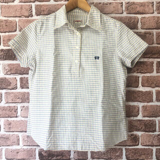 マックレガー(McGREGOR)のMcGREGOR 半袖シャツ Lサイズ ハーフボタン(シャツ/ブラウス(半袖/袖なし))