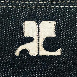 クレージュ(Courreges)のタグ付き‼️クレージュ ❤︎ ヴィンテージ デニム ミニ ハンドバッグ(ハンドバッグ)