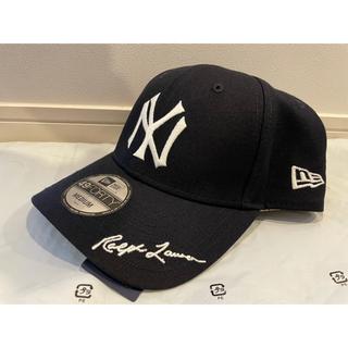 POLO RALPH LAUREN - ラルフローレン x ヤンキース MLB キャップ ネイビー  M New Era